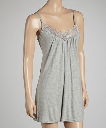 Gray Essential Bliss Chemise