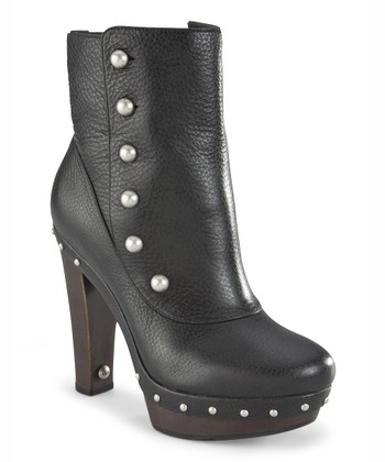 Black Cosima Mid Boot