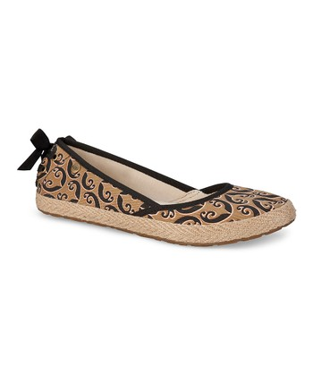 Black Indah Marrakech Slip-On Shoe