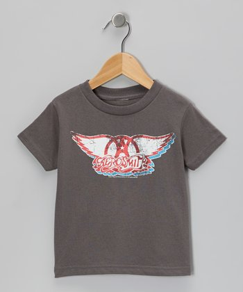 Charcoal Aerosmith Tee - Toddler & Boys