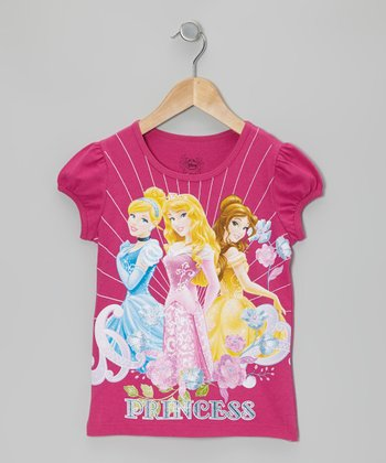 Azalea 'Princess' Cap-Sleeve Tee - Girls