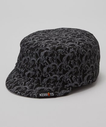 Black Riding Cap