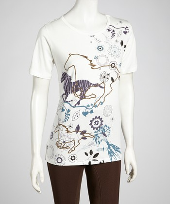 Ivory Fresh Field Tee - Women