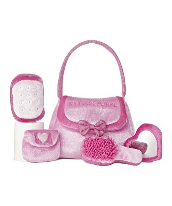 'My First Purse' Plush Toy Set