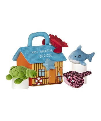 'My Beach House' Sealife Plush Toy Set