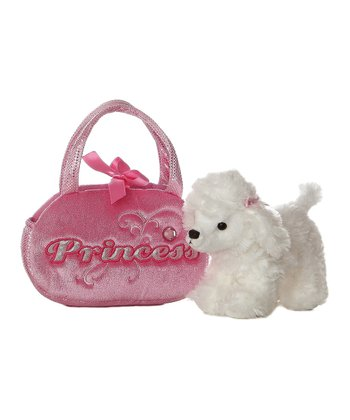 Poodle Princess Plush Toy & Carrying Case