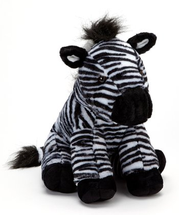 Wild Onez Zebra Plush Toy & Walking Stick