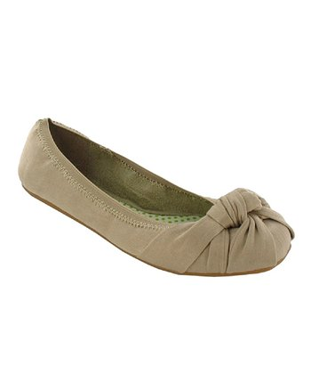Natural Brushed Amery Ballet Flat