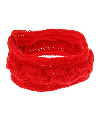 Red Geneva Headwrap