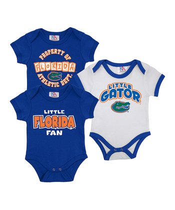 Royal & White Florida Short-Sleeve Bodysuit Set - Infant