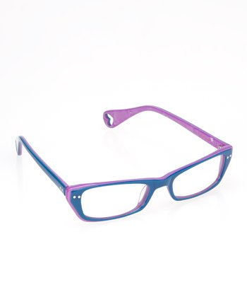 Teal Chic Eyeglasses