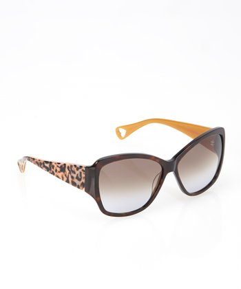 Espresso Purrtty Sunglasses