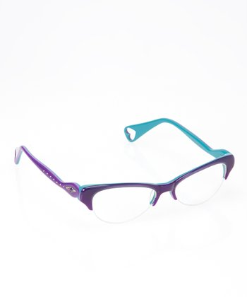 Betsey Johnson Violet Isis Eyeglasses