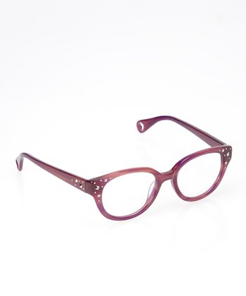 Betsey Johnson Violet Blondie Eyeglasses