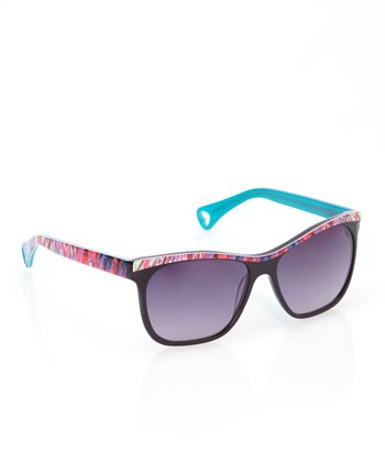 Betsey Johnson Raven Kitty Kat Fever Sunglasses