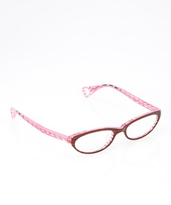 Betsey Johnson Espresso & Rose Oxford Street Eyeglasses