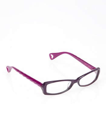 Betsey Johnson Violet Brilliance Eyeglasses
