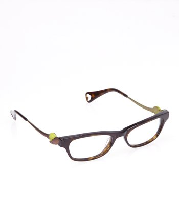 Betsey Johnson Espresso Wild Rose Eyeglasses