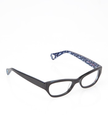 Betsey Johnson Raven Jungle Queen Eyeglasses
