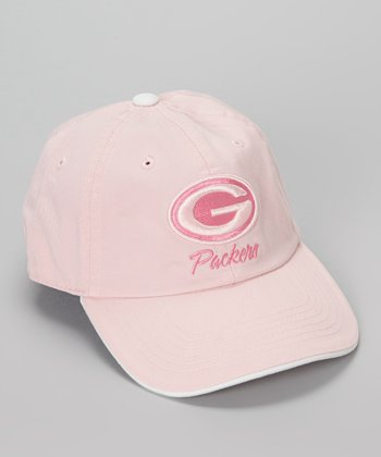 Pink Green Bay Packers Baseball Cap - Kids
