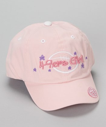 Pink San Francisco 49ers Star Baseball Cap - Kids