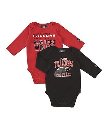 Atlanta Falcons Long-Sleeve Bodysuit Set - Infant