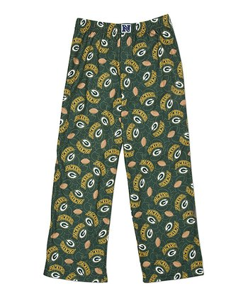 Green Green Bay Packers Pants - Kids