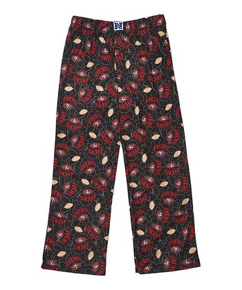 Black San Francisco 49ers Pants - Kids