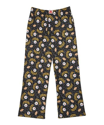 Black Pittsburgh Steelers Pants - Kids