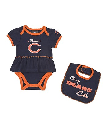 Chicago Bears Skirted Bodysuit & Bib - Infant