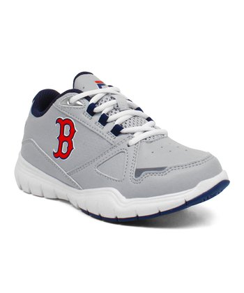Gray Red Sox High Rise Sneaker