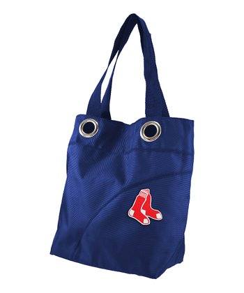Navy Boston Red Sox Tote
