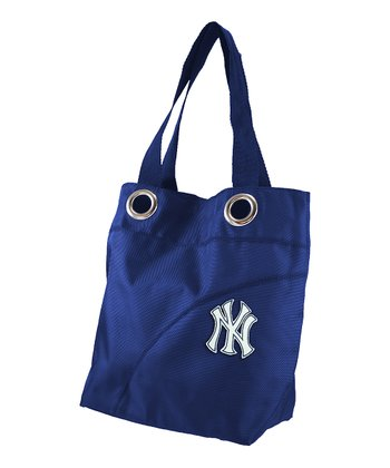 Navy New York Yankees Tote