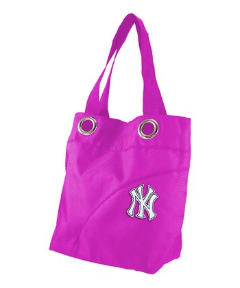 Pink New York Yankees Tote