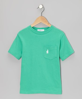 Spearmint Pocket Tee - Toddler & Boys