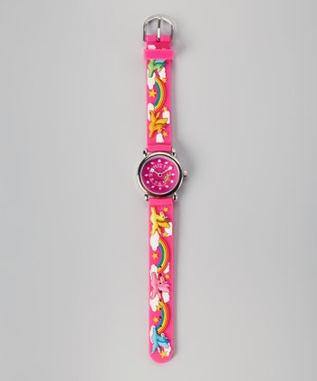 Pink Rainbow Watch