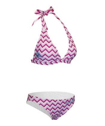 Level Six Acute Wave Silica Halter Bikini - Women