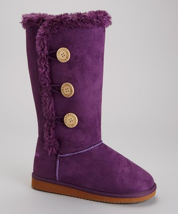 Purple Dooley Triplet Boot