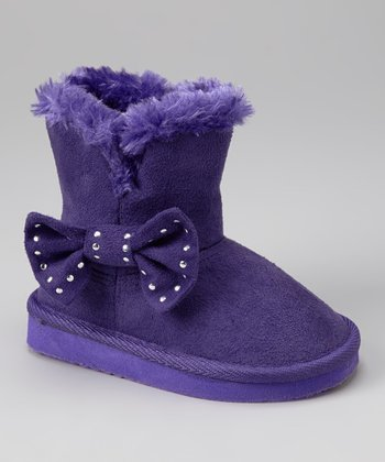 Purple Felisa Boot