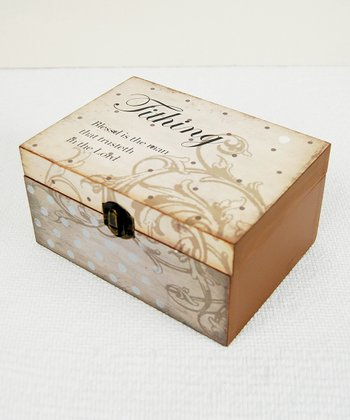 Vintage Tithing Box