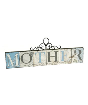 'Mother' Wall Sign