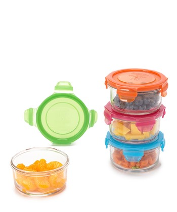 Garden 13-Oz. Four-Piece Lunch Bowl Set