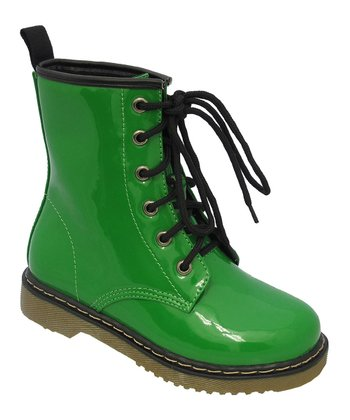 Green Welma Boot