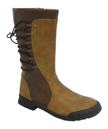 Brown Polo Boot