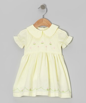 Yellow Flower Dress - Toddler