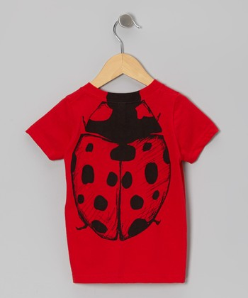 Red Ladybug Body Tee - Toddler & Kids