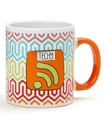 'Techy' 20-Oz. Mug