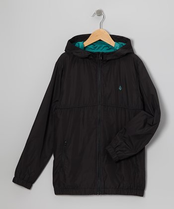 Black Swisher Jacket - Toddler & Boys