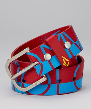 Blue & Red Belt