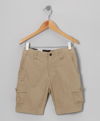 Khaki Racket Cargo Shorts - Toddler & Boys